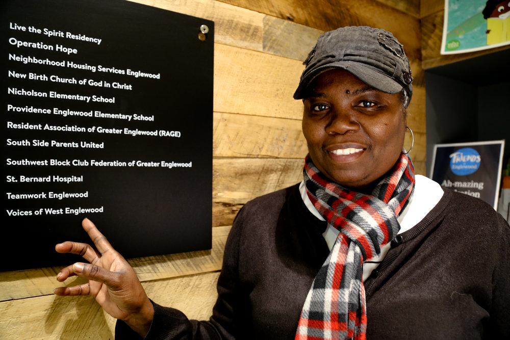 Gloria Williams. Photo: Olivia Obineme