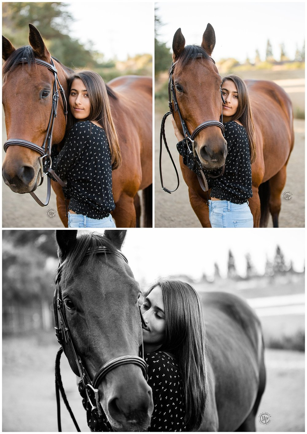 Black Background Horse Rider Equine Photographer Southern California Sara Shier Photography SoCal Equestrian Cowgirl_0042.jpg