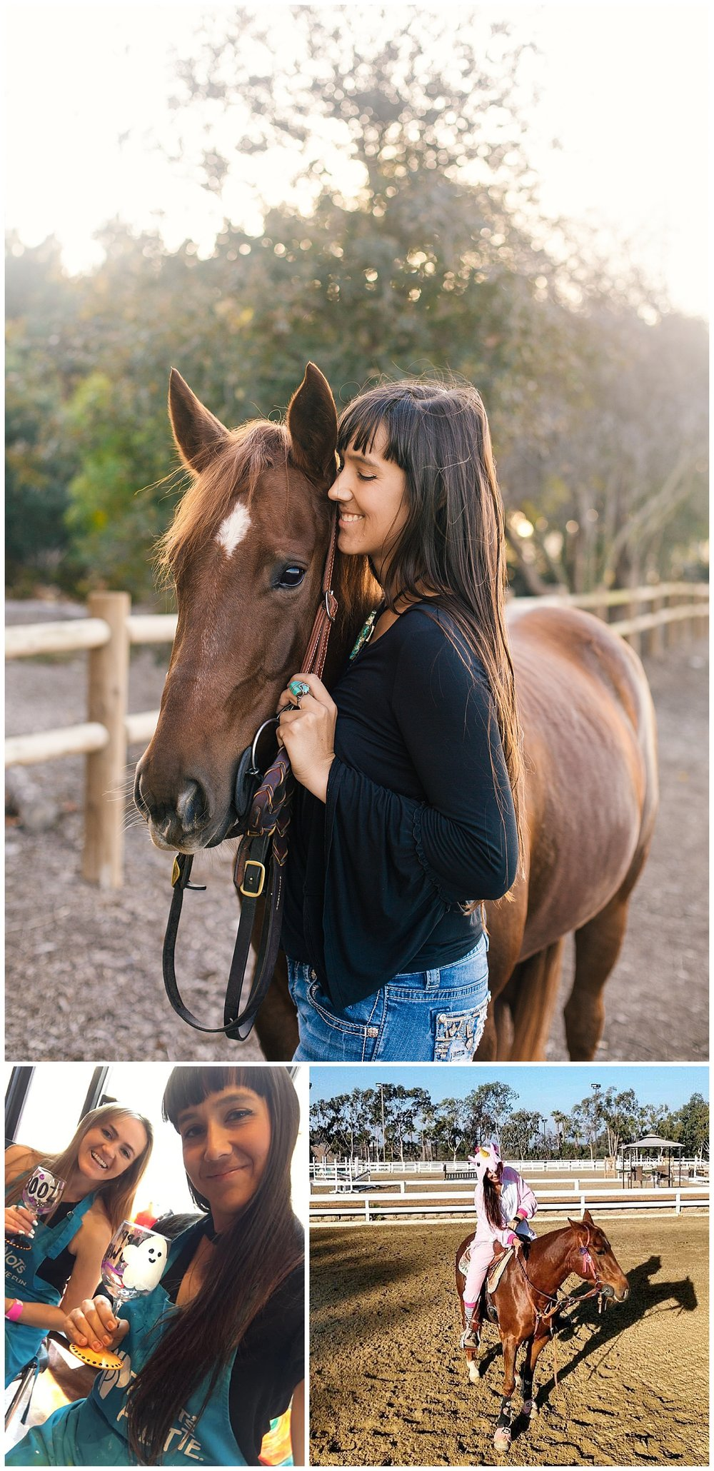 Black Background Horse Rider Equine Photographer Southern California Sara Shier Photography SoCal Equestrian Cowgirl_0191.jpg