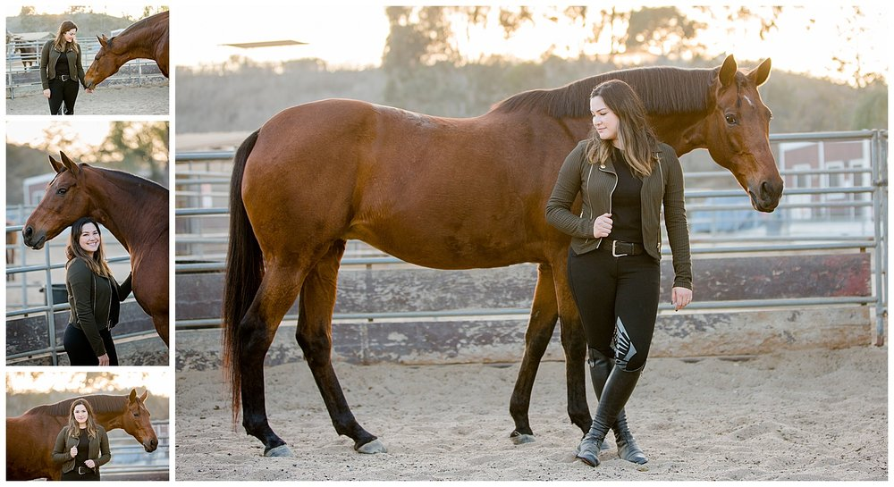 Black Background Horse Rider Equine Photographer Southern California Sara Shier Photography SoCal Equestrian Cowgirl_0319.jpg