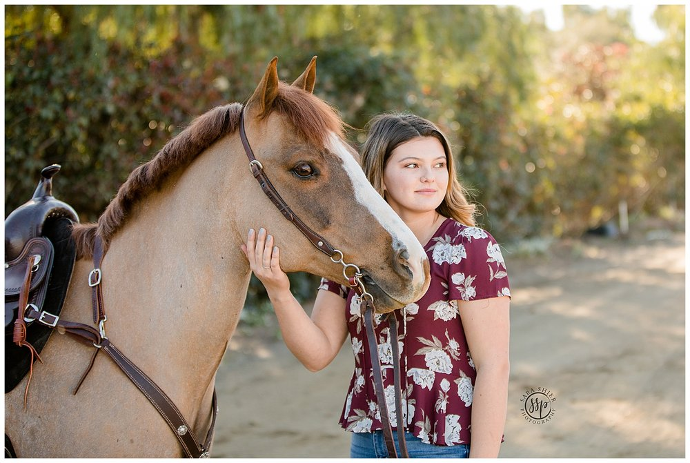 Black Background Horse Rider Equine Photographer Southern California Sara Shier Photography SoCal Equestrian Cowgirl_0418.jpg