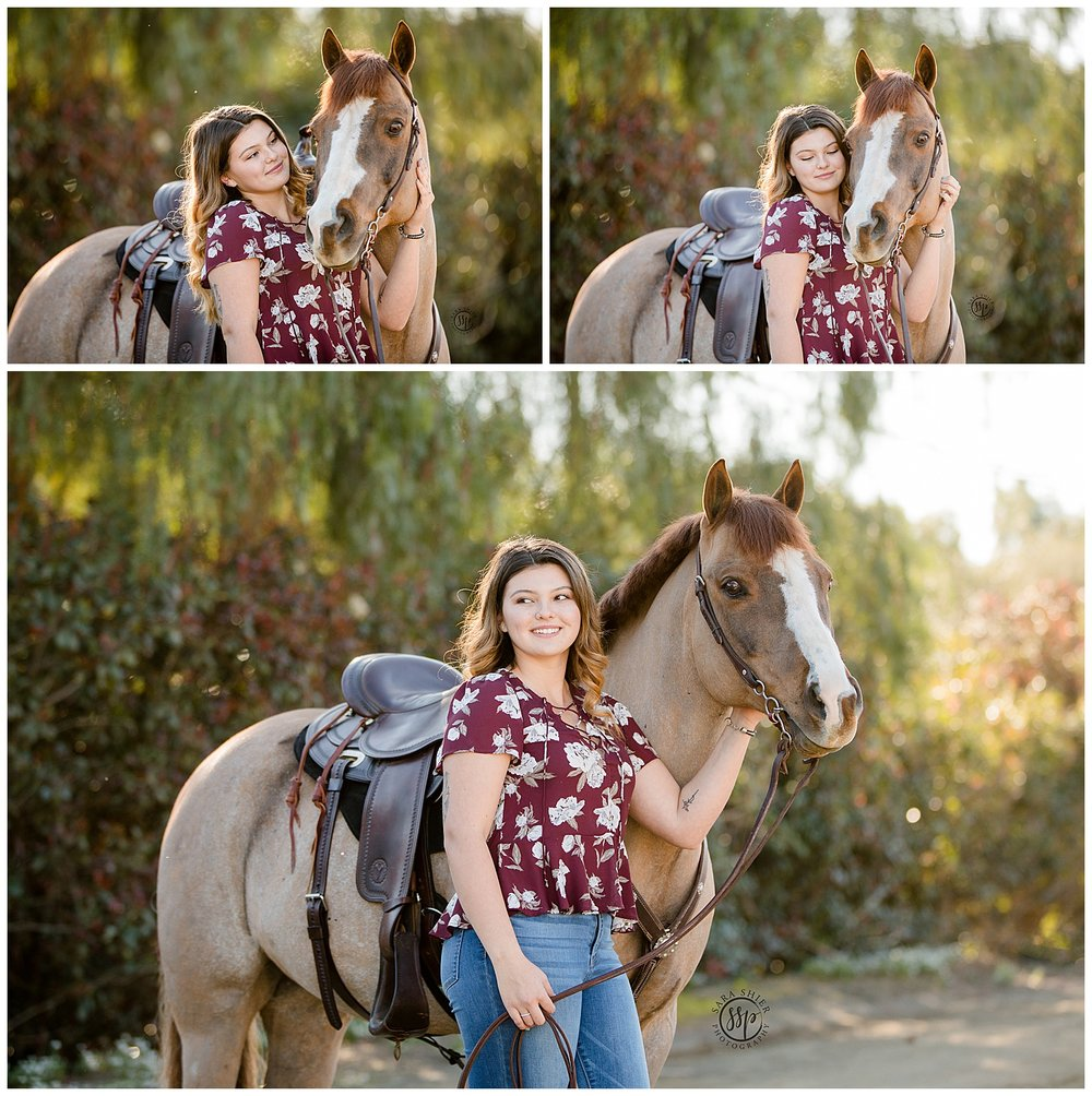 Black Background Horse Rider Equine Photographer Southern California Sara Shier Photography SoCal Equestrian Cowgirl_0420.jpg