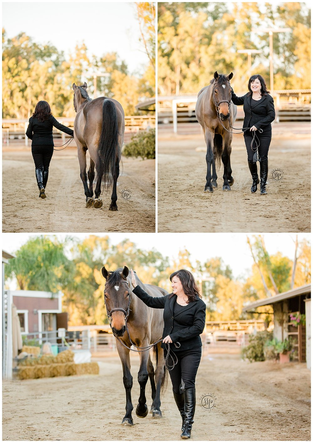 Black Background Horse Rider Equine Photographer Southern California Sara Shier Photography SoCal Equestrian Cowgirl_0464.jpg