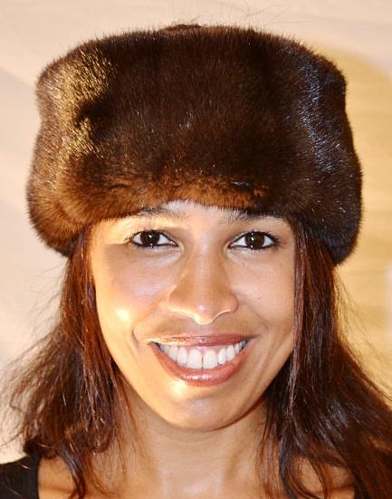 Genuine Mink Fur Headband 0222a9b9815