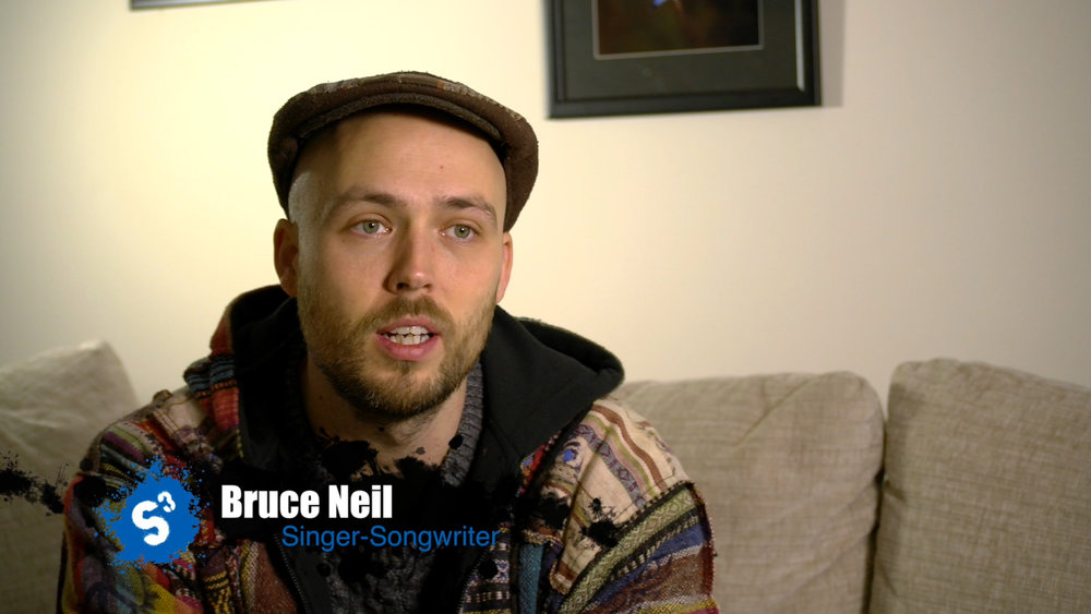 Interviews with Bruce formed the backbone of the story