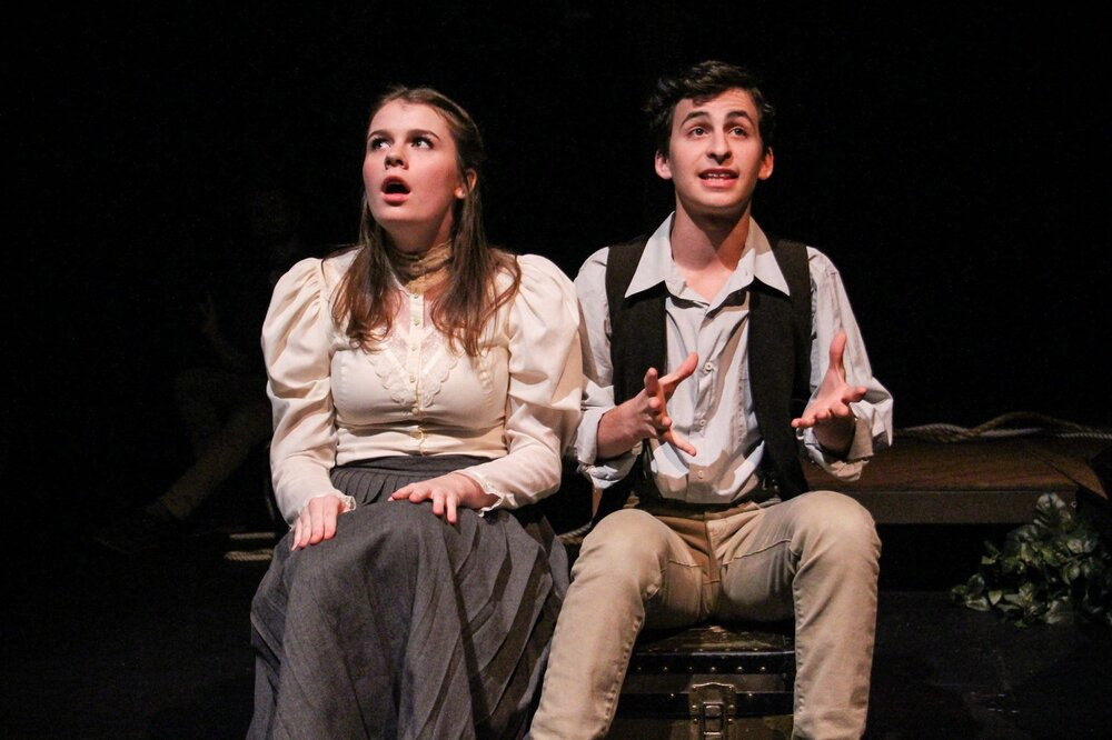 """""""Molly Aster"""" in   Peter and the Starcatcher  . 2017."""