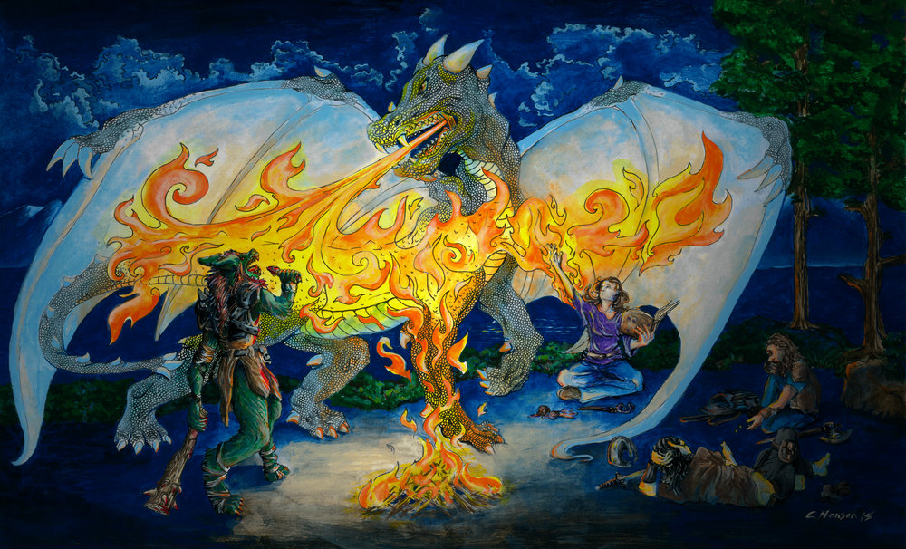 Corinne Hansen -  Illusion of a Dragon 2018.jpg