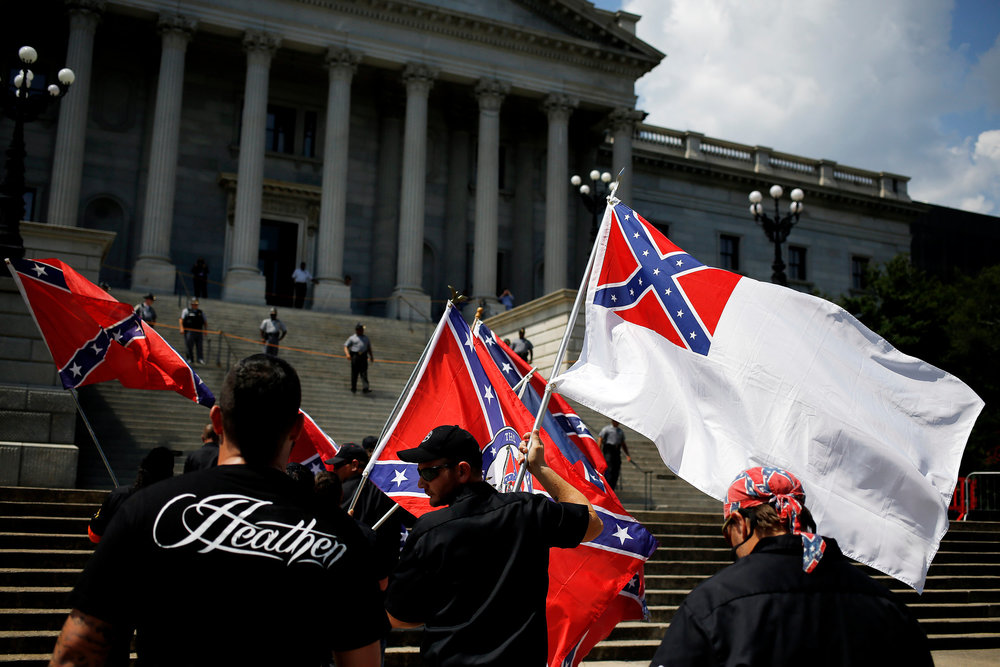 COLUMBIA KKK RALLY