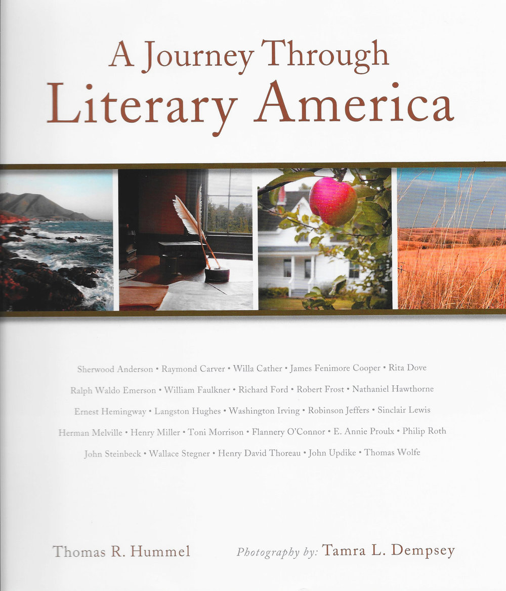 A Journey Through Literary America<br>by Thomas Hummel