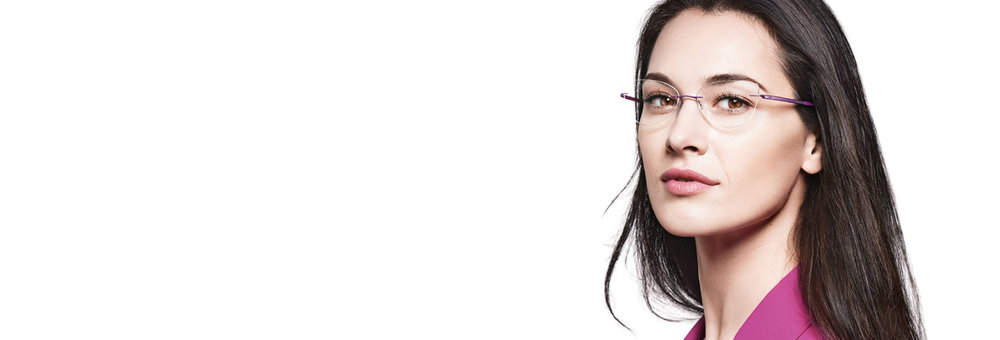 RIMLESS - We specialise in Silhouette rimless glasses that are custom designed to reflect your individuality