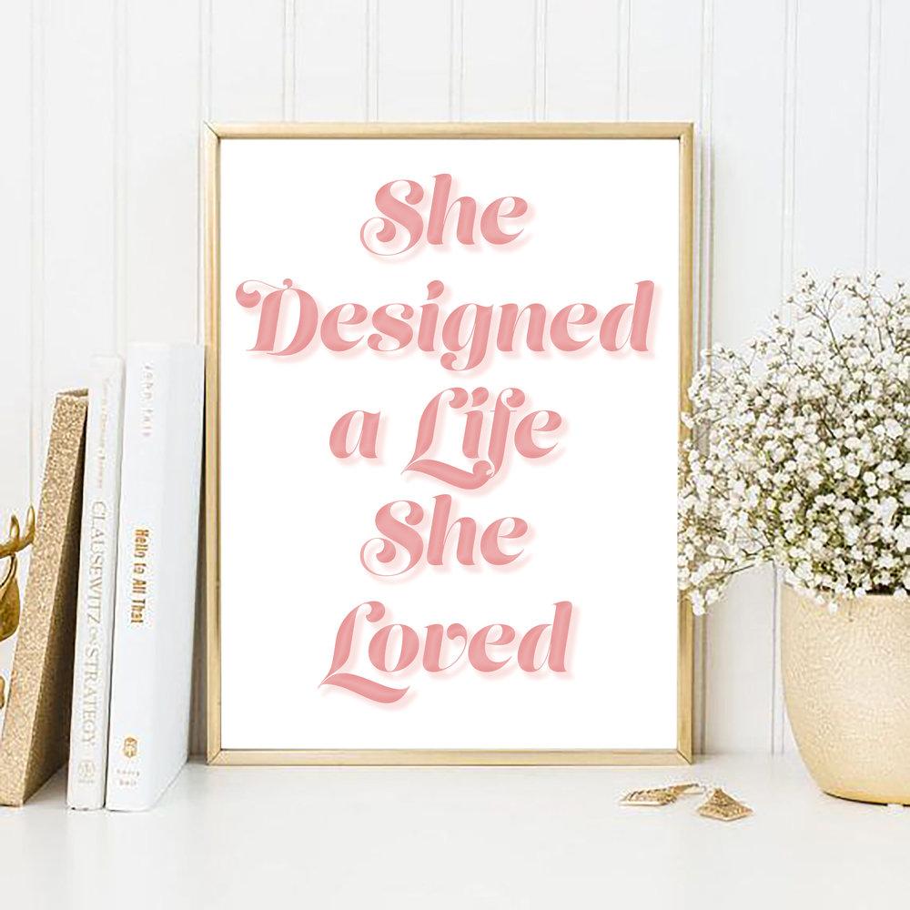 She Designed