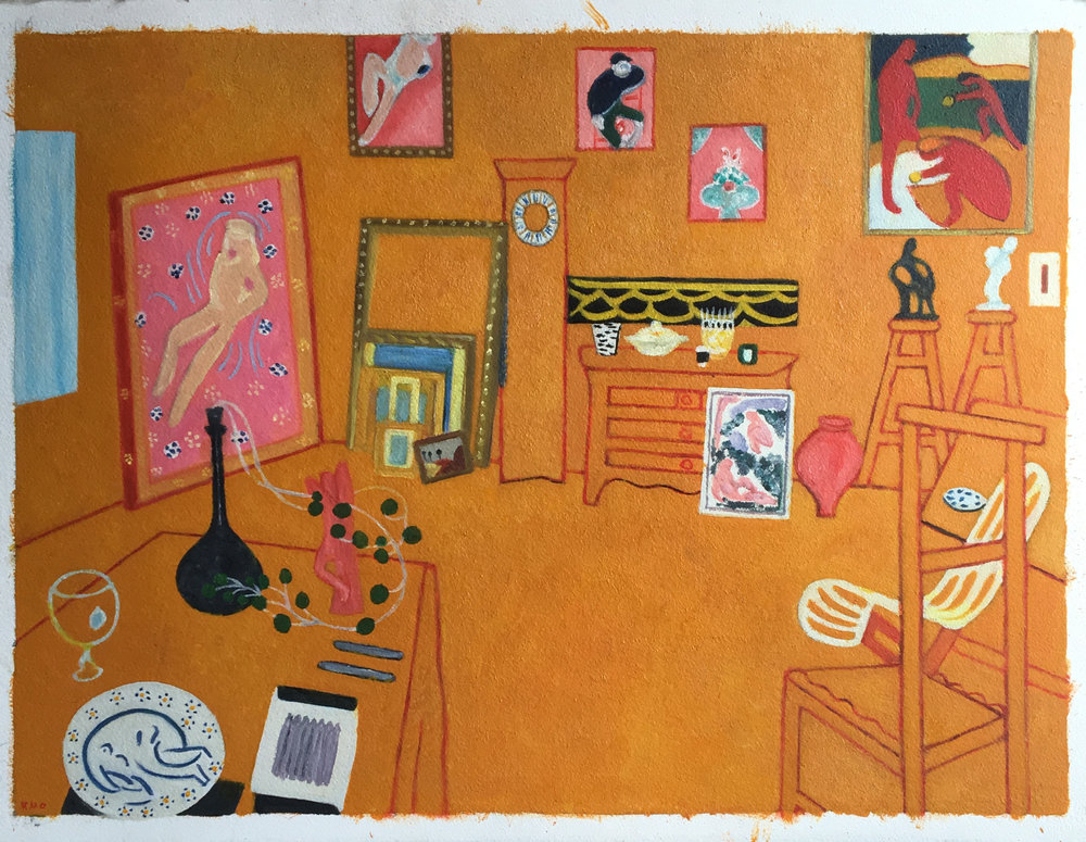"Matisse ""Red"" Studio Variations"