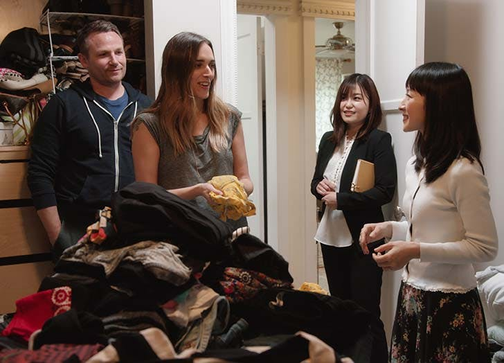 Episode 1 of Tidying Up with Marie Kondo