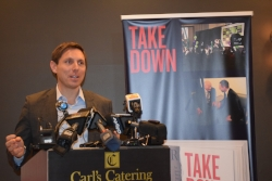 Brown Addresses Media and Book Launch