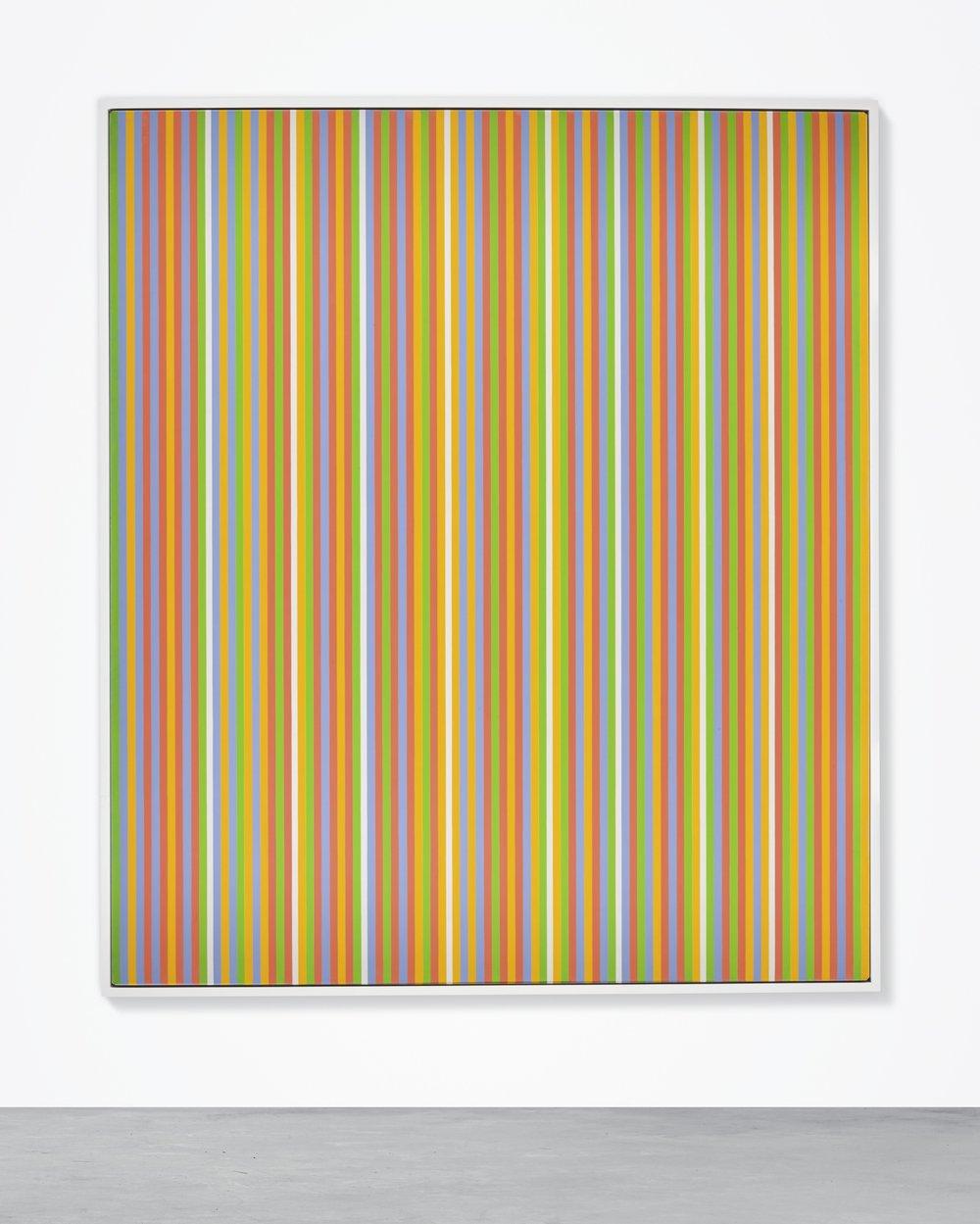 Bridget Riley,  Midi,  1983. Courtesy of Sotheby's.