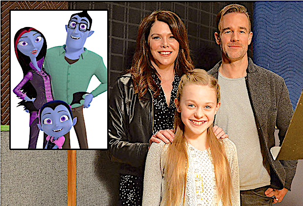 Vampirina stars Lauren Graham, Isabella Crovetti and James Van der Beek.
