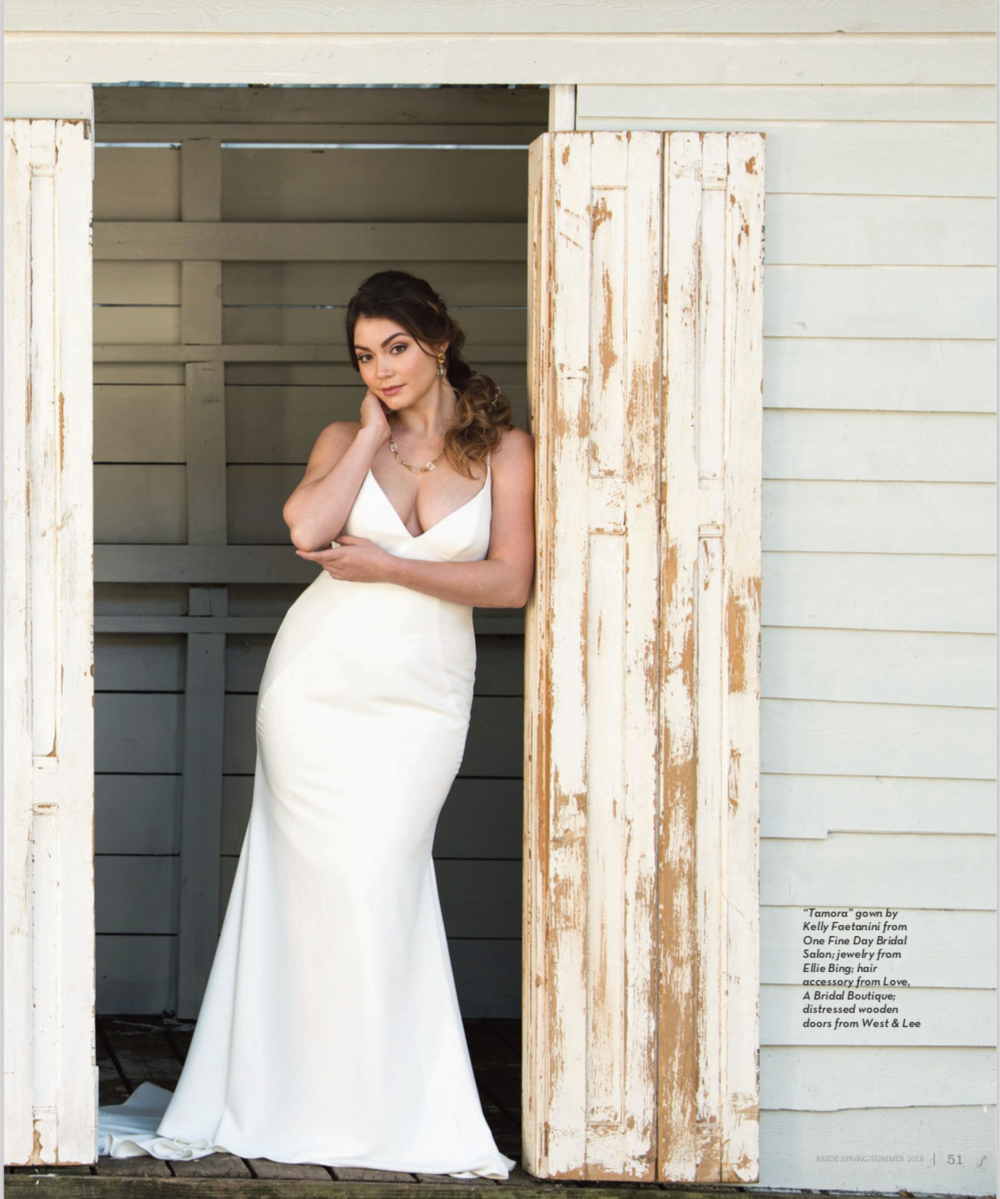Bride Magazine |Jacksonville Magazine | 2018 | Photographer: Agnes Lopez
