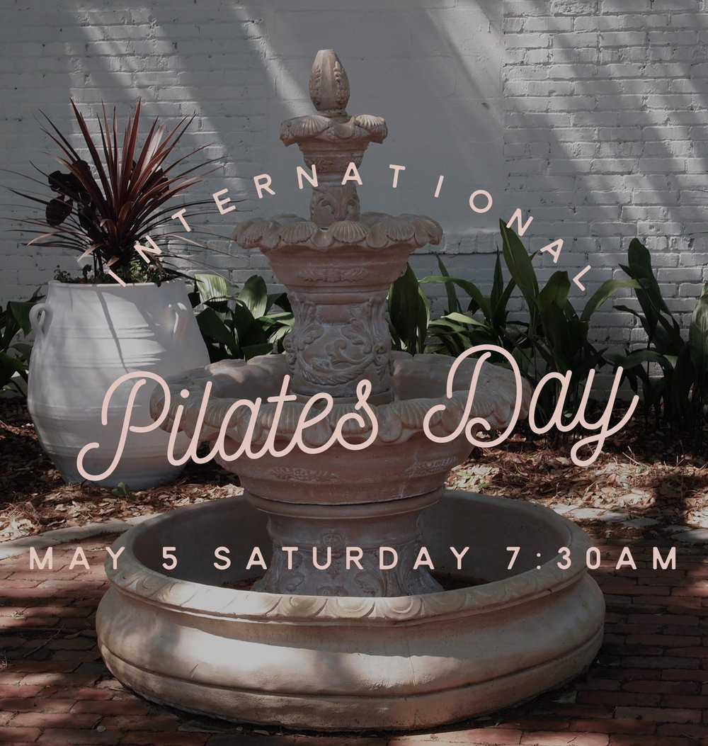 EVERBALANCE | YOGA IN THE GARDEN   - National Pilates Day, May 5, 2018 | 7:30am - 8:30amCelebrate National Pilates Day with Everbalance! Enjoy the morning as the sun rises over the garden. Refresh, relax, and renew!*Indoor back-up will be available in the event of rain.