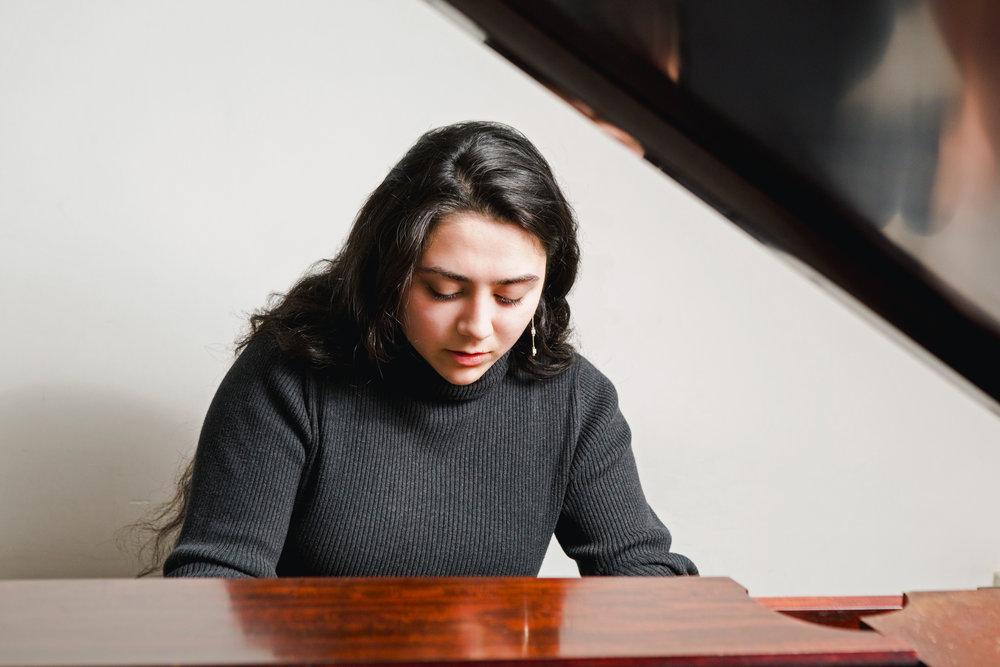 Piano lesson with David Shimoni