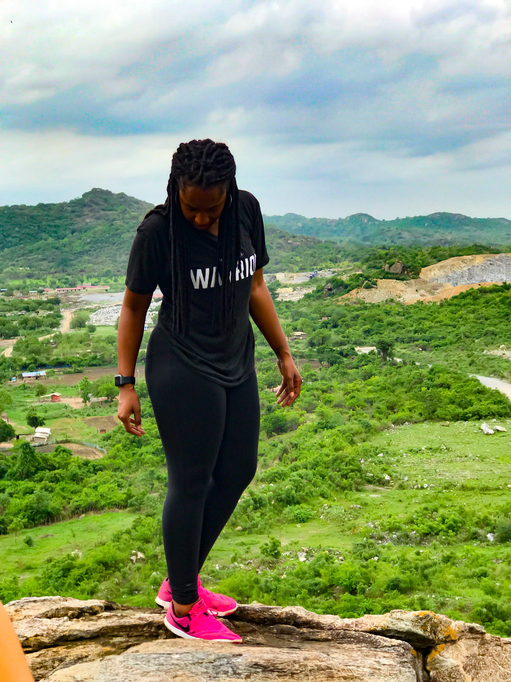 Atop Shai Hills, Greater Accra Region