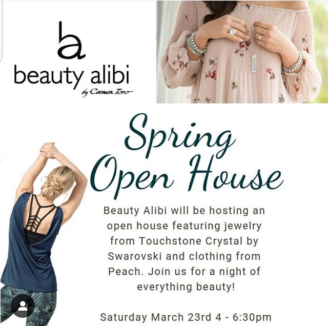 🌸Ladies! If you're in the area, here's an event you don't want to miss hosted by Carmen Toro, Owner of @beautyalibi!  Location:  16 W Broad St, Bethlehem, PA 18018  Carmen will also be featured in our upcoming issue of Emerge Woman Magazine releasing on Saturday, 3.30.19!  #EmergeWomanMagazine