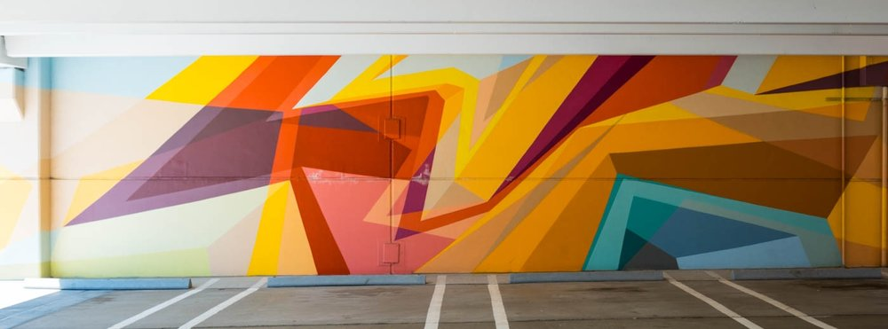 Z-Lot mural by wais