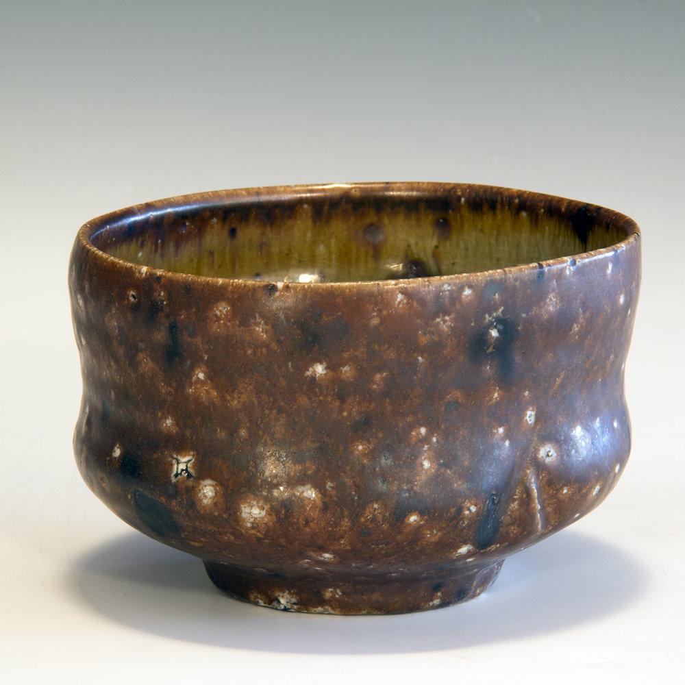 5. Tan tea bowl with iron markings.jpg