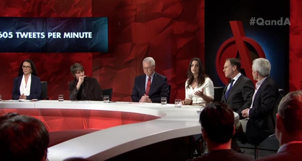 Panelist on Q & A (ABC)