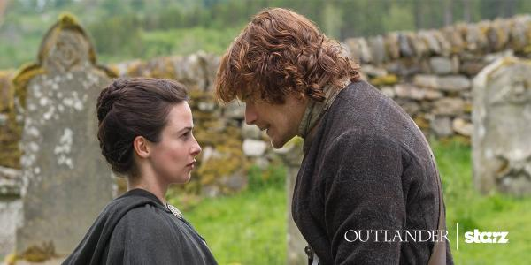 Jenny and Jamie Fraser, brother and sister