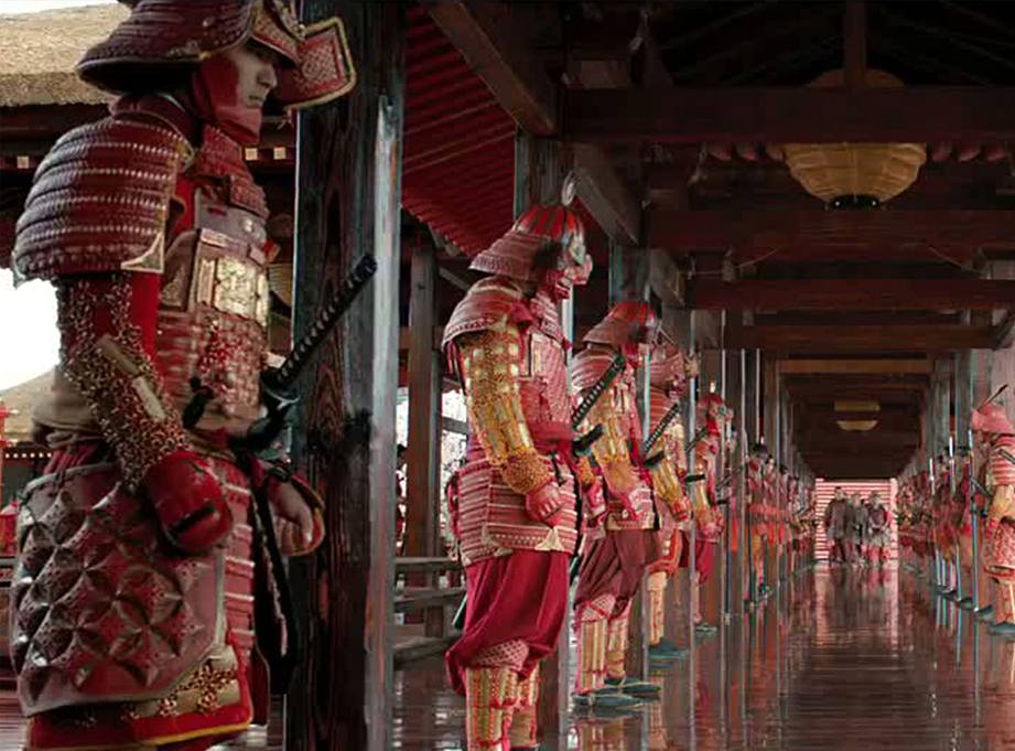 "The 2013 movie ""47 Ronin"", starring Keanu Reeves, featured some beautifully designed Samurai armor."