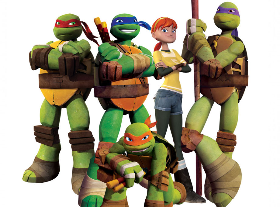 I absolutely love the 2012 Nickelodeon series Teenage Mutant Ninja Turtles. Beautiful animation, great designs and genuinely good, funny stories.