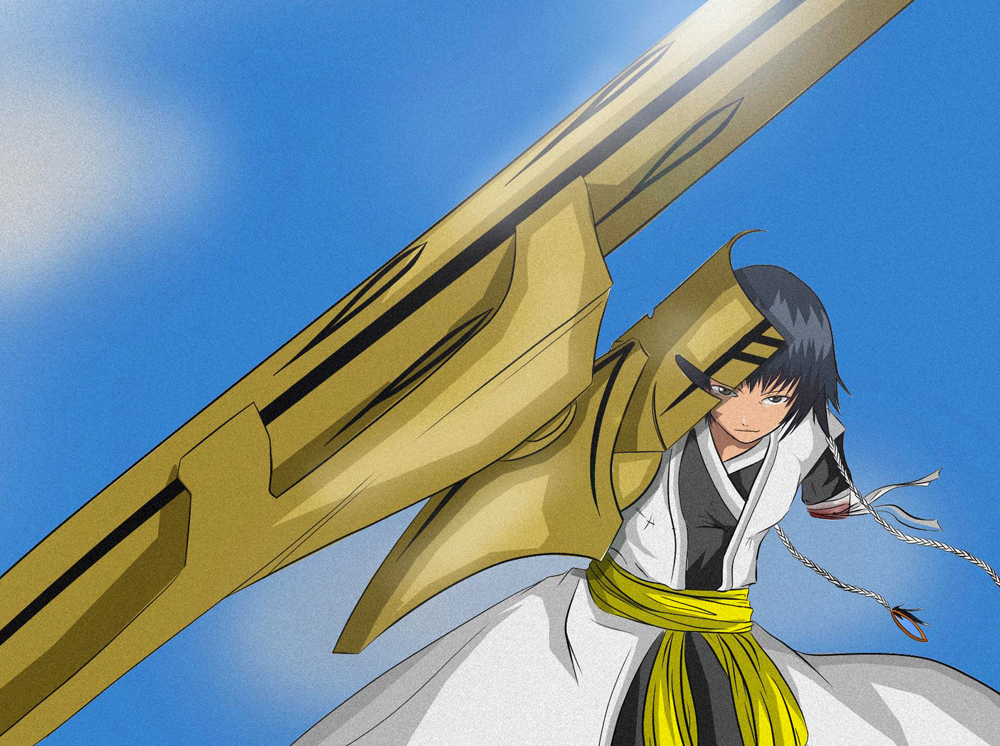 "I was commissioned to build Soi Fon's Bankai from the anime ""Bleach"". Large builds are tricky…they have to be sturdy but light enough to wear."