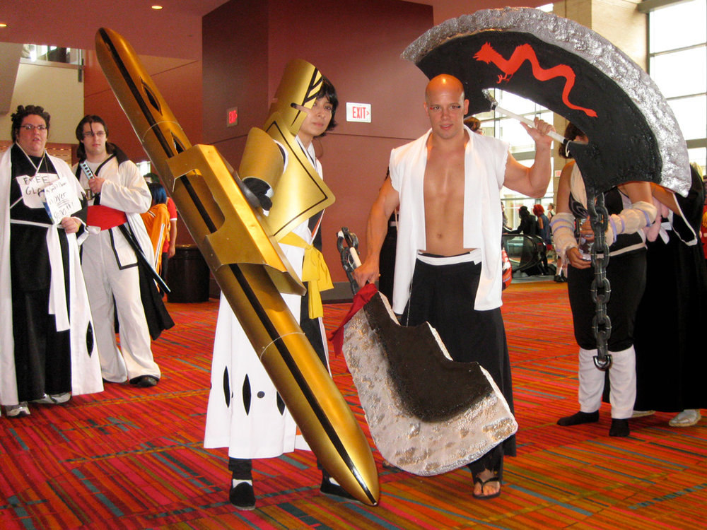 The client with her bankai at ConnectiCon 2010.