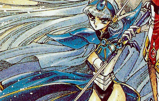 """I was commissioned to make a replica of the swords from the series """"Magic Knight Rayearth"""". Umi's was the second completed of the trio."""