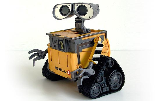 I finally got this Interactive Wall-E …it's been sold out since Christmas. It's great but needed a more accurate paint job.
