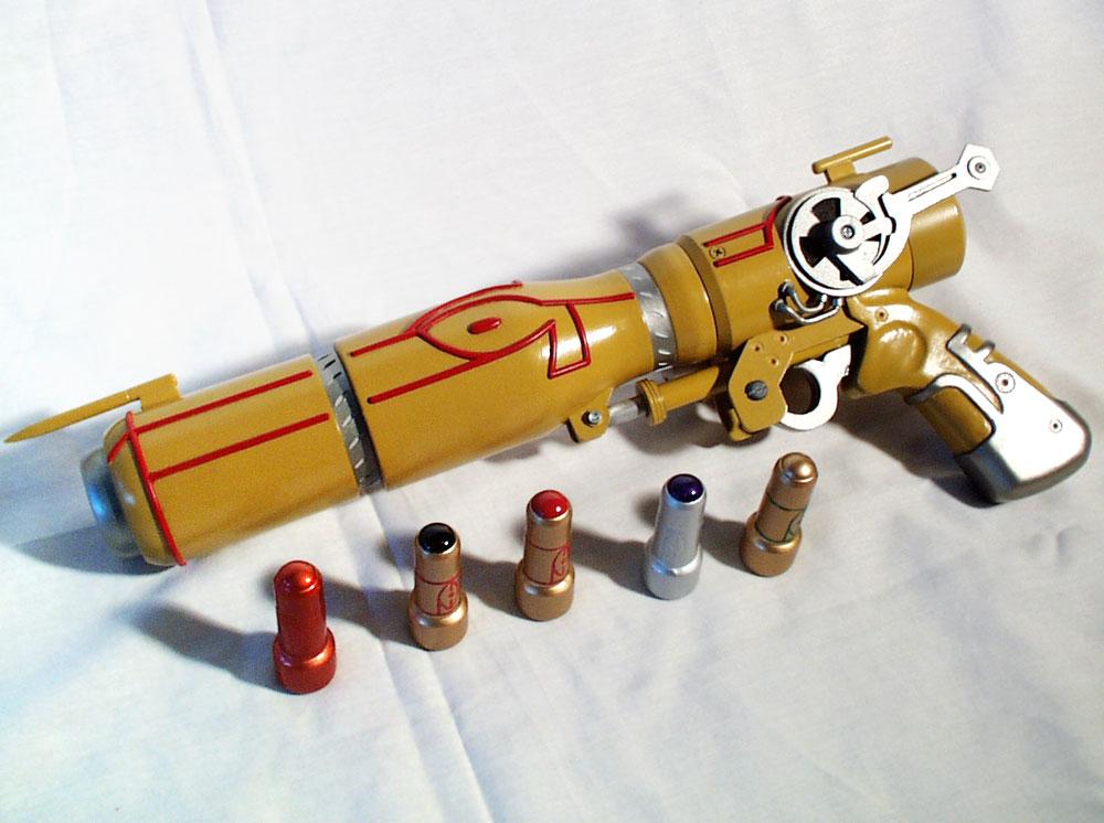 Here is the final assembled gun.
