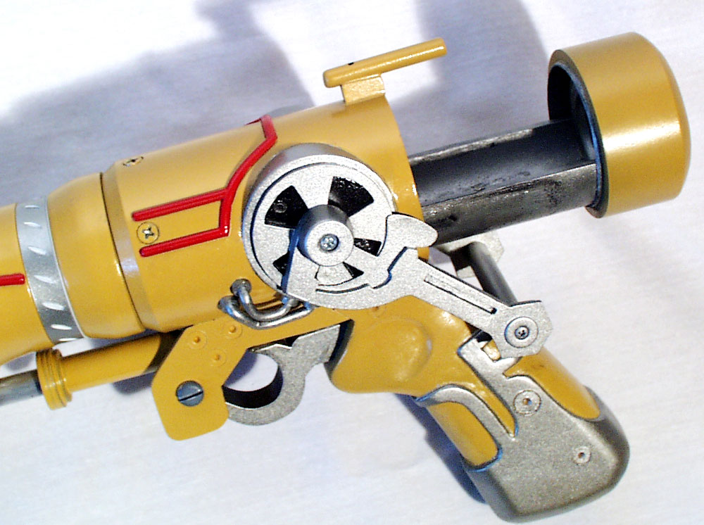 Detail of the receiver.