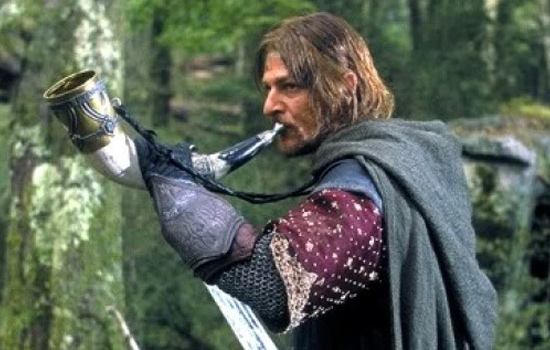 I was commissioned to build Boromir's Horn of Gondor. This just happens to be one of the props on the top of my build list so WIN-WIN!