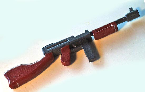 The Thompson painted.
