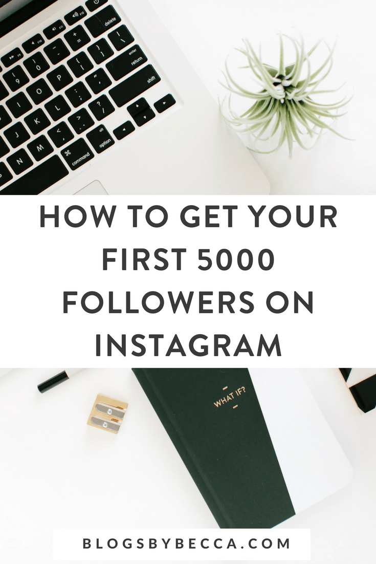 How to Get Followers on Instagram! Learn Instagram tips and tricks for bloggers to get more Instagram followers. Click through to read the social media strategy! #instagram, #socialmedia, #socialmediamarketing, #socialmediatips, #blog, #blogging, #blogtips