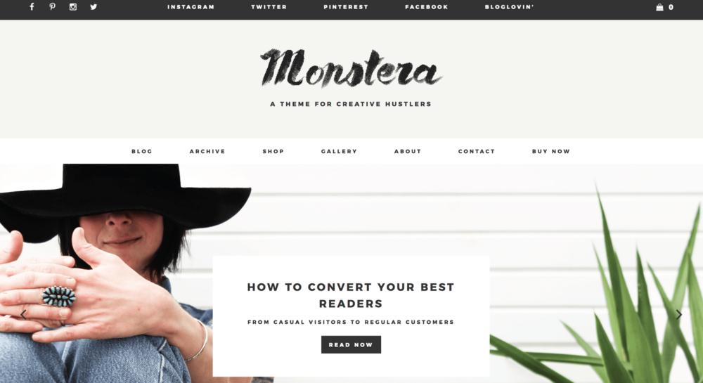 Best Wordpress Themes Monstera