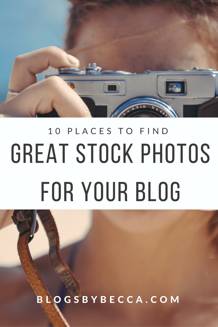10 Places to Find Great Stock Photos For Your Blog. Check out these great stock photo sites for your blog photography! #blog, #blogger, #blogbiz, #blogtips, #stockphotos, #photography