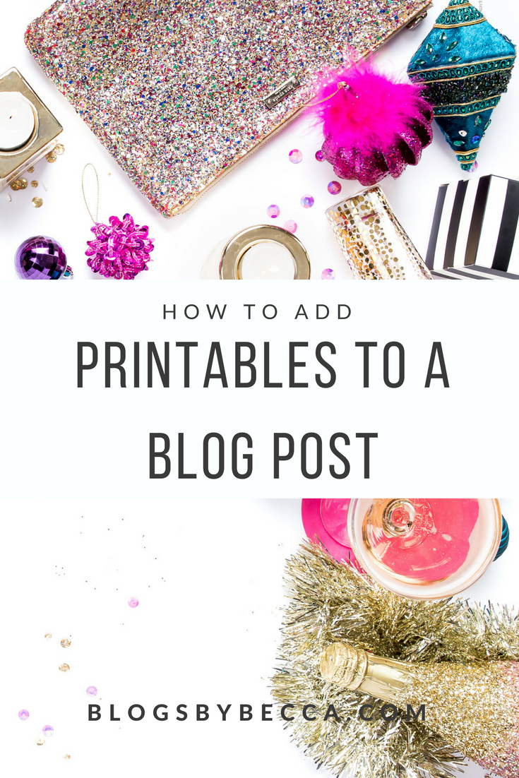 How to Add Printables to a Blog Post. This guide is so essential! Use Leadpages and ConvertKit to add printables right into your blog post and gain email subscribers! Click through to check it out! #blog, #blogger, #blogging, #blogtips, #blogbiz, #emaillist