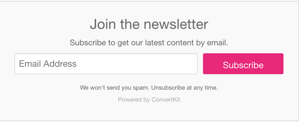 Best Opt-ins for Bloggers ConvertKit