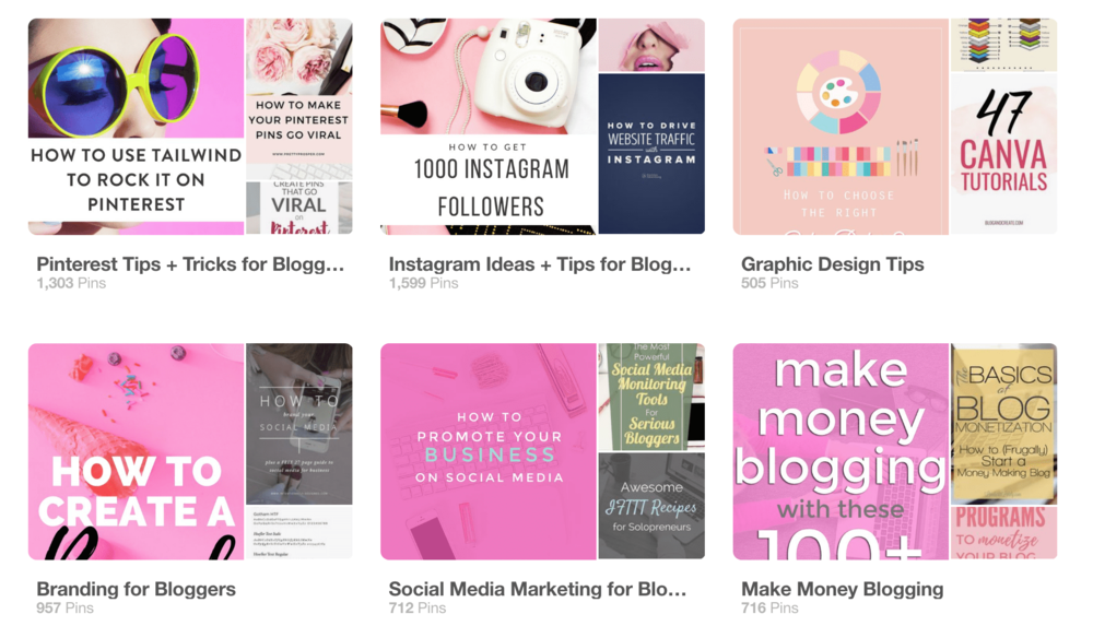 12 tips for a perfect pinterest board covers