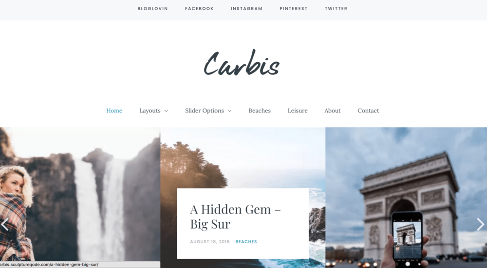 7 Girly Blog Themes Carbis