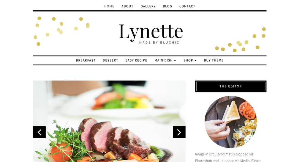 7 Girly Blog Themes Lynette