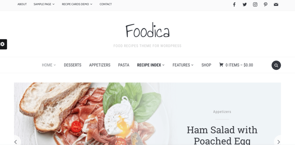 7 Girly Blog Themes Foodica