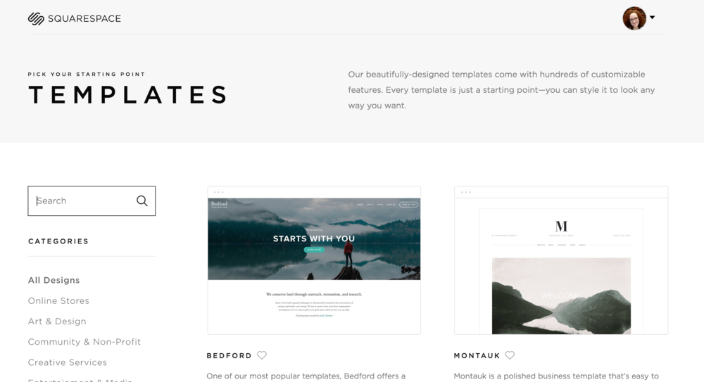 How to switch from WordPress to Squarespace templates