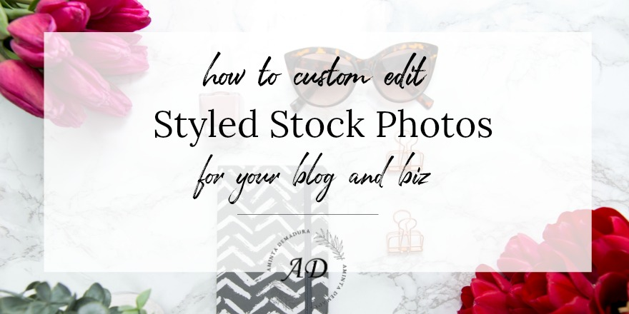 how to use stock photos